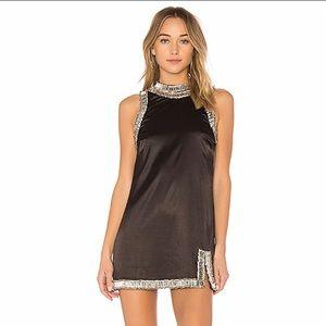 NBD x REVOLVE Gorgeous Nanette Dress in Black NWT